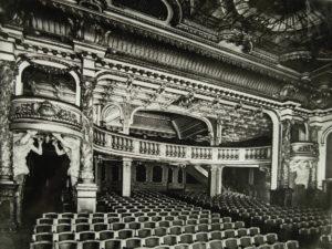 Une salle de cinéma en 1912
